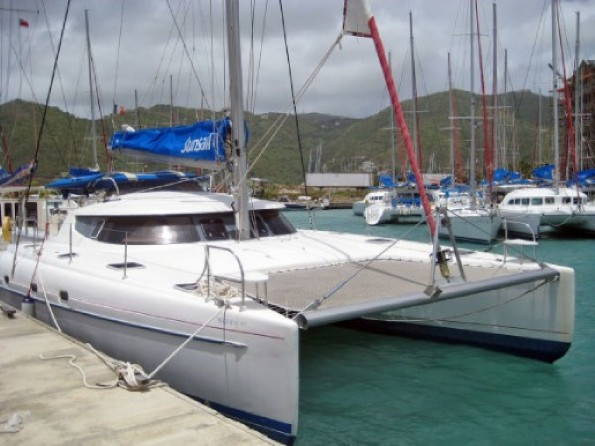 Used Sail Catamaran for Sale 2002 Bahia 46